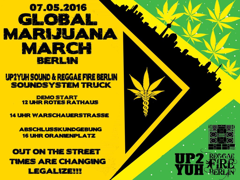 GMM Berlin vorläufiger Flyer - Global Marijuana March 2016